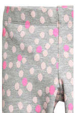 Leggings - Grey/Spotted -  | H&M 3